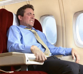 farting in a plane