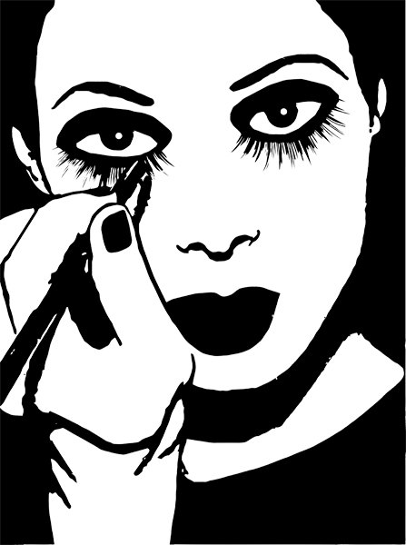girl-putting-on-makeup