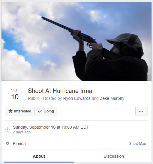 Shoot at Irma
