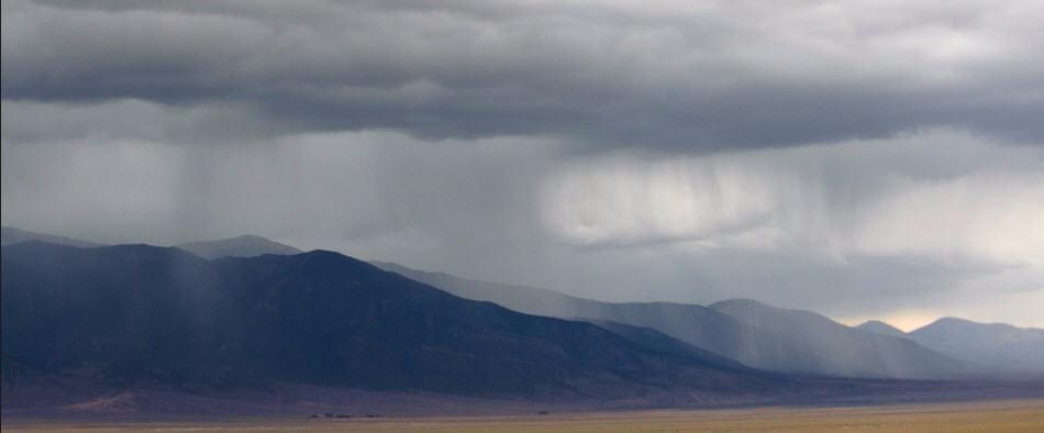 rain in Nevada