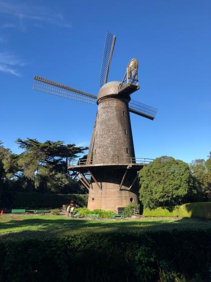 Windmill at Golden Gate Park