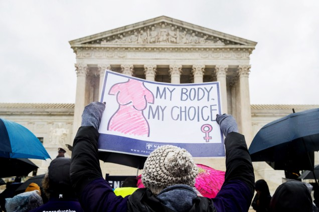 Supreme Court Crisis Pregnancy Centers, Washington, USA - 20 Mar 2018