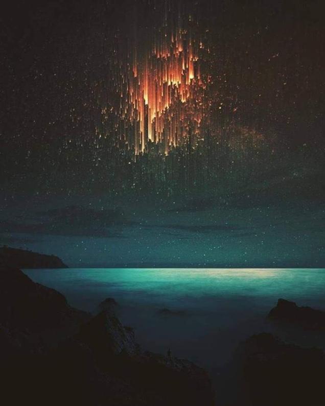 Falling lights