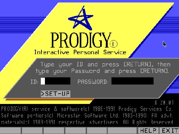 Prodigy Online Service