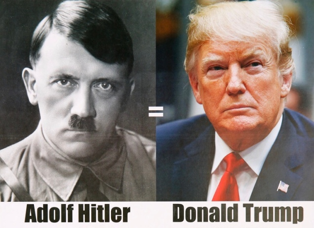 Trump and Hitler